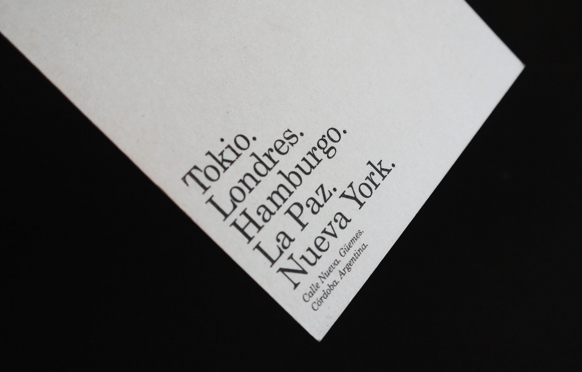HORACIO LORENTE — Art Director Barrio ∎